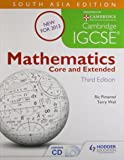 Cambridge Igcse Mathematics Core and Extended with CD: South Asian Edition