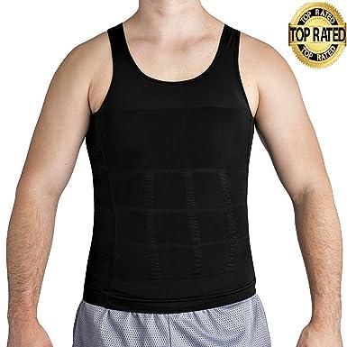 08f1d6ce236 Roc Bodywear Men s Slimming Body Shaper Compression Shirt Slim Fit  Undershirt Shapewear Mens Shirts Undershirts USA