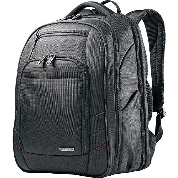"Samsonite Xenon 2 Checkpoint Friendly 15.6"" Mochila Negro - Funda (Mochila para Tablet,"