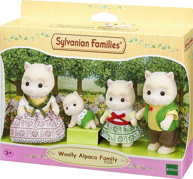 Amazon.es: Sylvanian Families - 5358 - Familia Alpaca: Juguetes y juegos