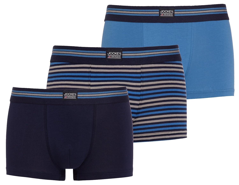 Maritime Blau Jockey® Short Trunk 3Pack