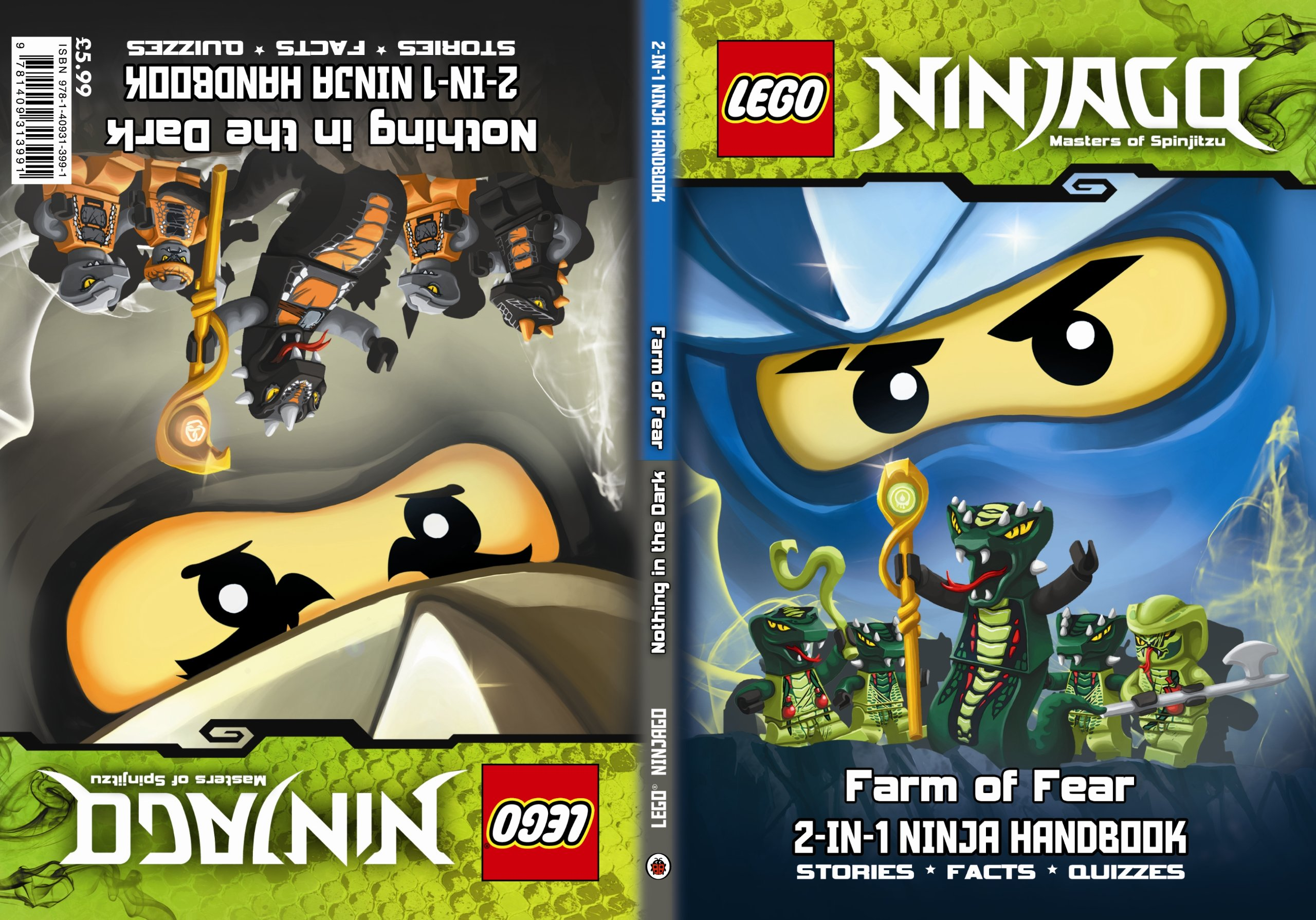 LEGO Ninjago 2-in-1 Ninja Handbook: Nothing in the Dark/Farm ...