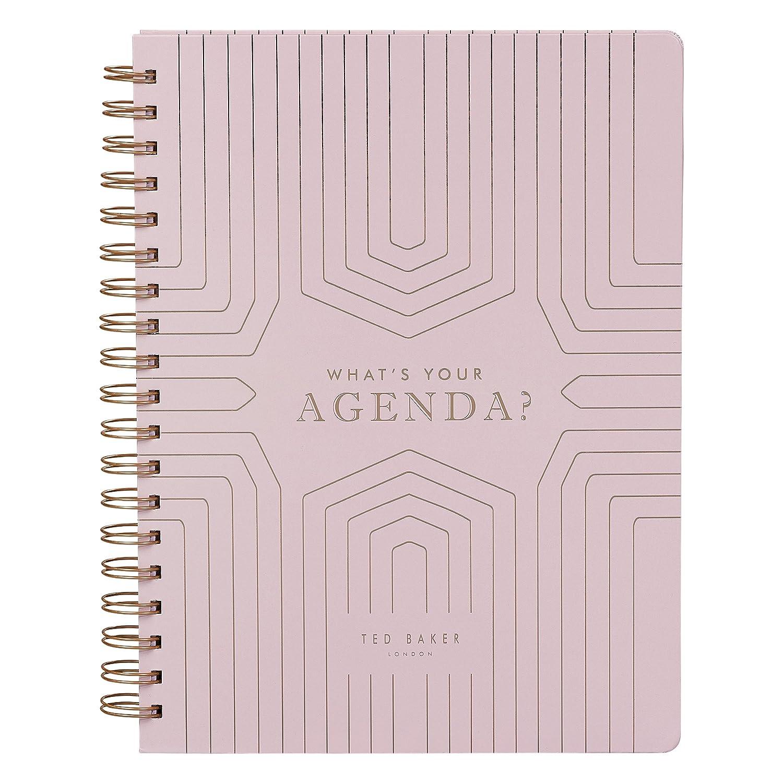 Ted Baker - 52 pegatinas para agenda semanal, color rosa y oro rosa