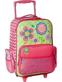 Stephen Joseph Girls Classic Rolling Luggage 40977e2d7b4f8