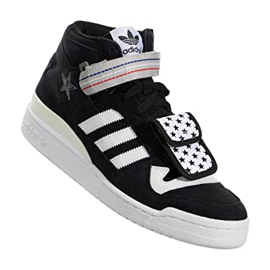 adidas x imbattuto forum mid (black1 / runninwhite