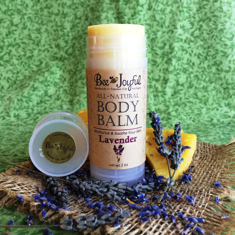 Bee Joyful Body Balm - Lavender - All-Natural