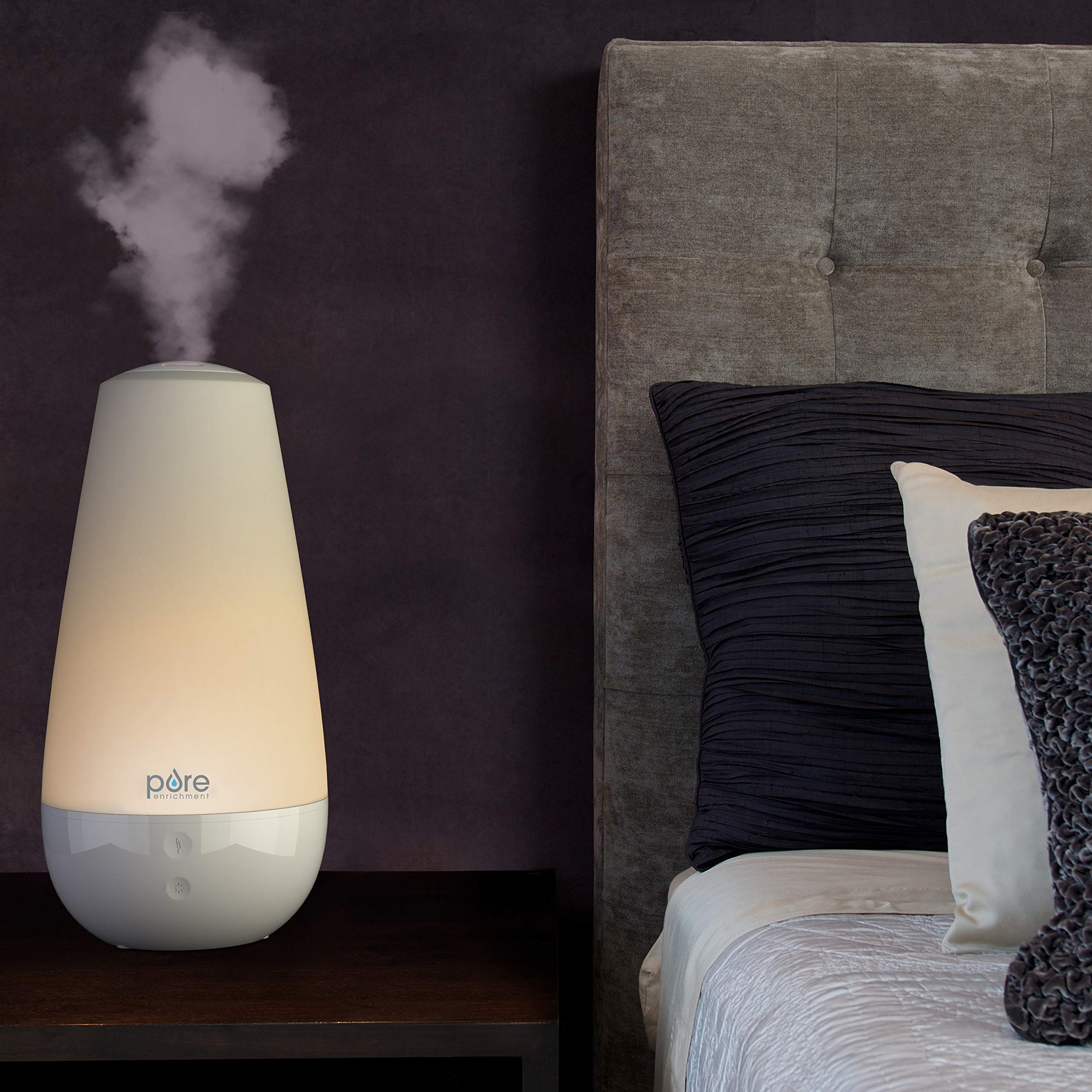 Pure Enrichment PureSpa XL - Extra-Large Premium Aroma Diffuser with 2,000ml Tank - 3-in-1 Unit Also Functions as a Single-Room Humidifier and Intelligent Mood Light by Pure Enrichment (Image #6)