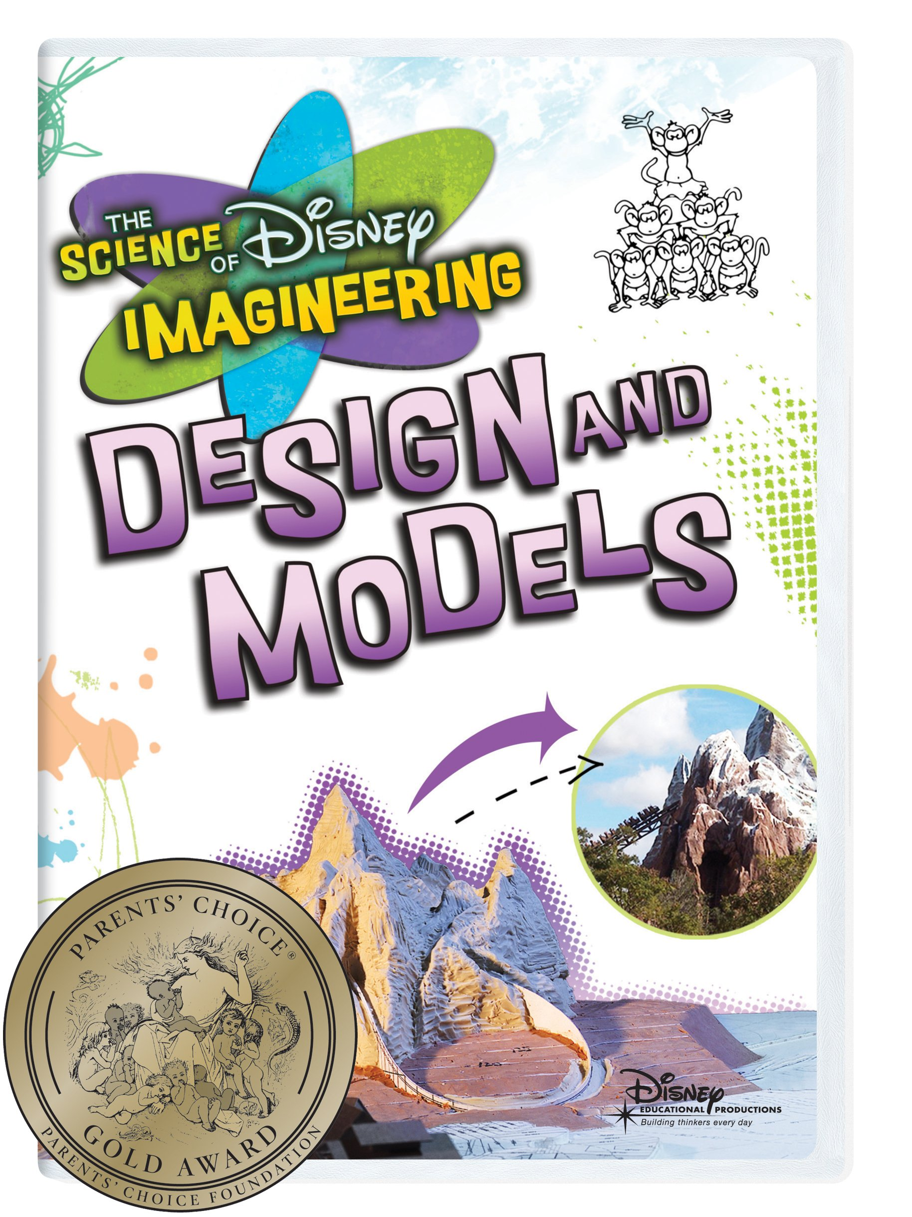 The Science of Disney Imagineering: Design and Models Classroom Edition [Interactive DVD] by Disney Educational Productions