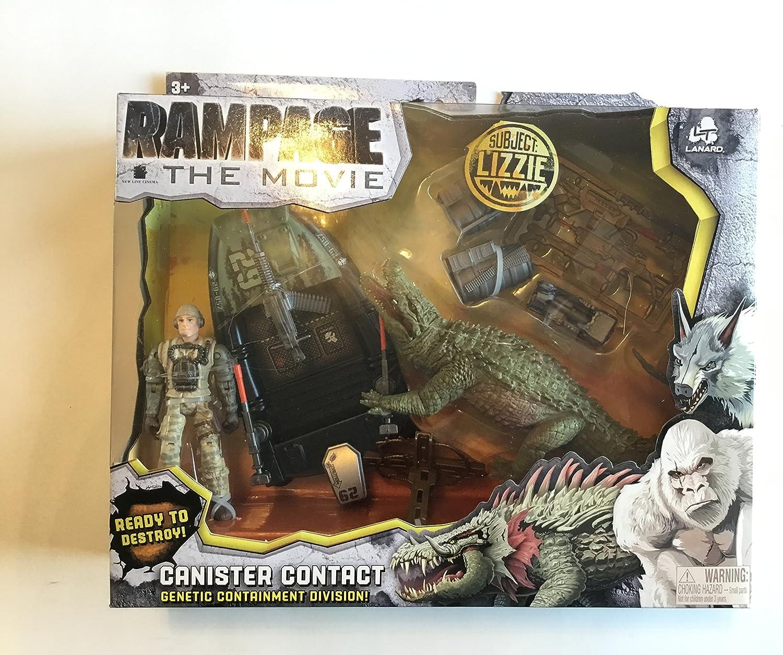 Rampage NUEVO, la película, recipiente, contacto, Lizzie: Amazon.es: Juguetes y juegos