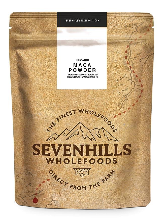 Sevenhills Wholefoods Maca Cruda En Polvo Orgánico 2kg