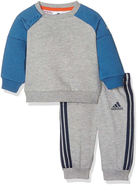 adidas I SP Crew Jogg Chándal, Niños, Gris (Brgrin/Azubas), 92 ...