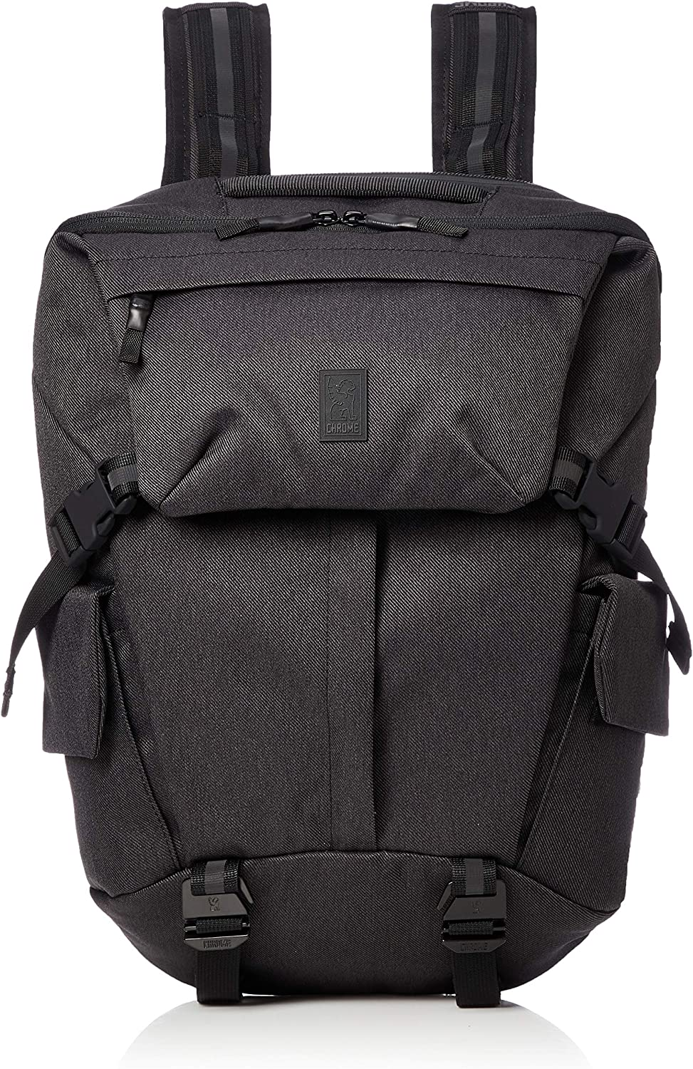 Chrome Industries Pike Backpack Utilitarian Travel Bag 22 Liter Black