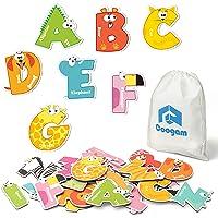 Coogam Magnetic Letters 26Pcs Jumbo ABC Alphabet Colorful Animal Shape Large Uppercase Fridge Magnets Educational Toy…