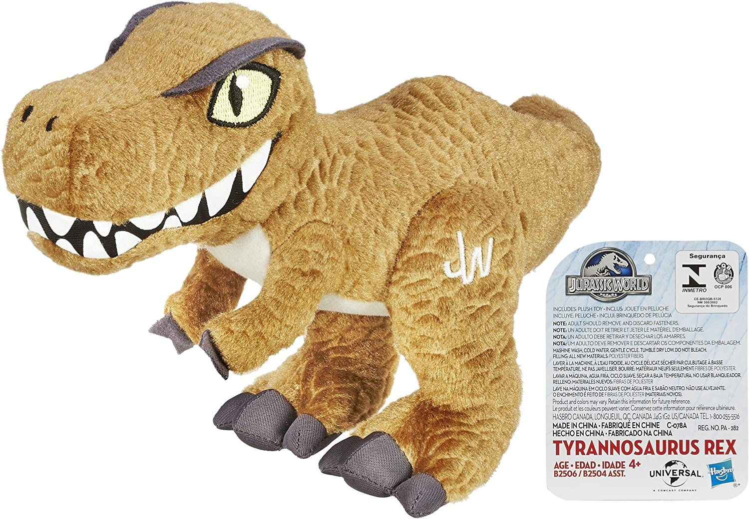 Aurora Monkey Stuffed Animal, Amazon Com Jurassic World Plush Tyrannosaurus Rex Toy Toys Games