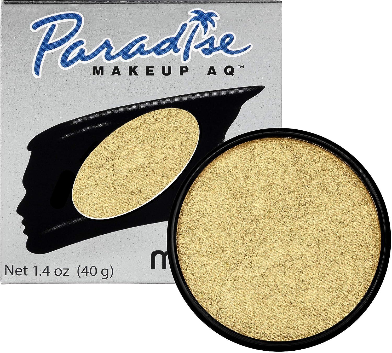 Mehron Makeup Paradise Makeup AQ Face & Body Paint (1.4 oz) (Brillant Gold Dore)