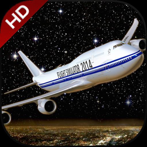 Flight Simuator New York FlyWings Night Fly (Boeing Space Plane)