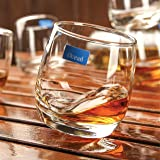 Ocean J14209 Cuba Rock (WHISKEY/WHISKY) Glass, Pack of 6, Clear, W 60.0 x H 88.0 x D 67.0 mm, 270 ml, Glass