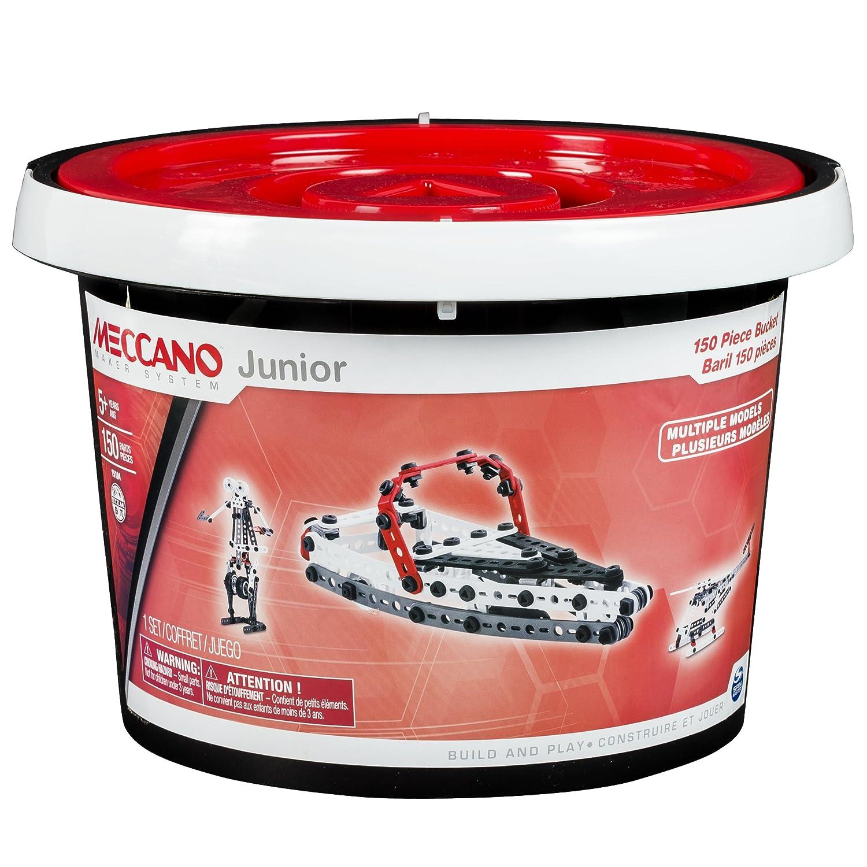 Meccano - 6026711 - Jeu de Construction - Baril 150 Pièces Meccano Junior 20070926