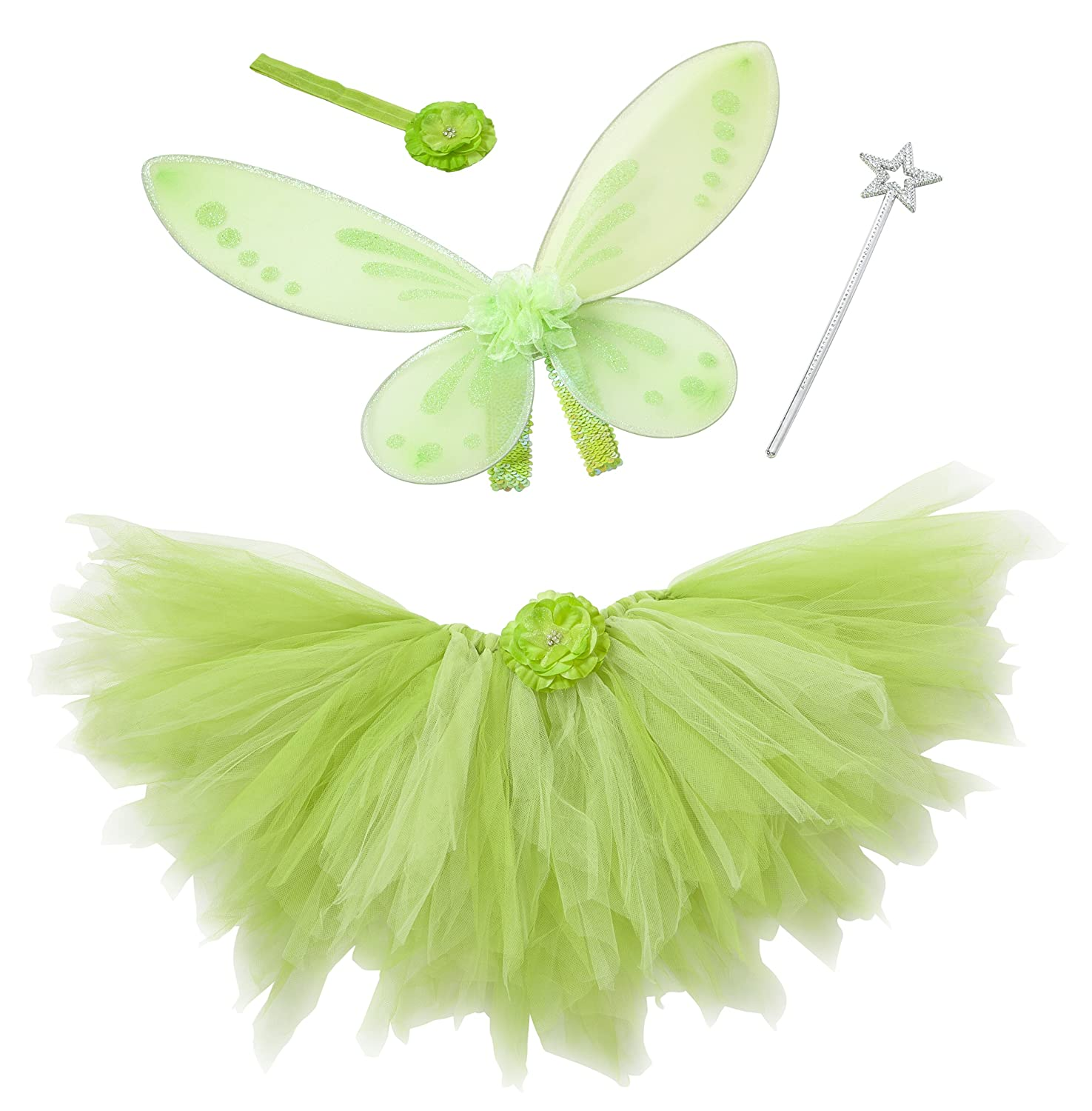 Heart to Heart Tinkerbell Costume for Toddler Tinkerbelle Birthday Party and Dress Up