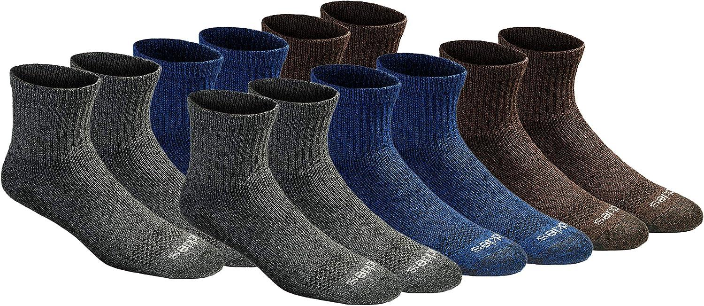 Dickies mens Dri-tech Moisture Control Quarter Socks Multipack at  Men's Clothing store