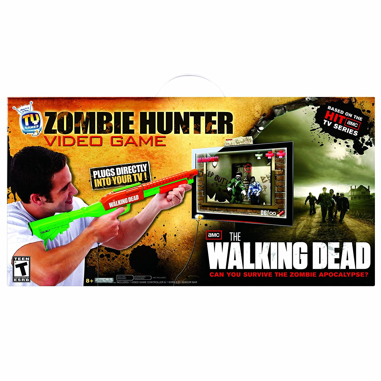 The Walking Dead Zombie Hunter Video Game B0088AJQ9A