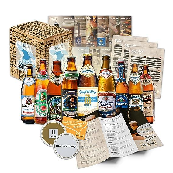 """""""9 Especialidades de Cerveza de Baviera"""" Colección de las más famosas variedades de"""