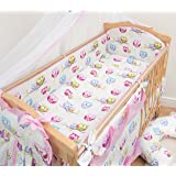 Pattern 23 70x80cm Duvet Cover /& Pillowcase 2 Pcs Crib//Cradle//Pram Bedding Set