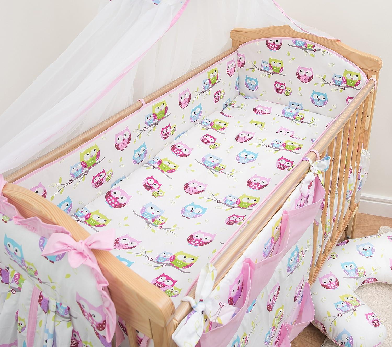 120x60cm 360cm Long 5 Pcs Baby Nursery All Round Bumper Set Pattern 1 Bedding Suits Cot