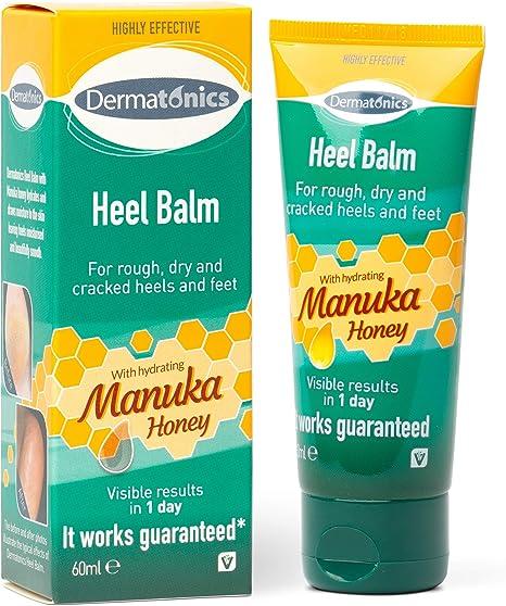 Dermatonics Heel Balm With Manuka Honey 60ml Suitable For Diabetics 0 6 Kg Manukafoot60 Amazon Co Uk Health Personal Care