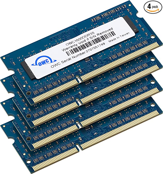 4x8GB Certified Refurbished PC3-12800R 1600MHz DDR3 ECC Registered Memory Kit for a Supermicro X9DRH-7F Server 32GB