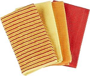 Fiesta Bar Mop Towel (Set of 4) Color: Sunny Stripe