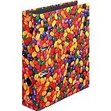 Herlitz Jelly Beans - Archivador con anillas A4, multicolor