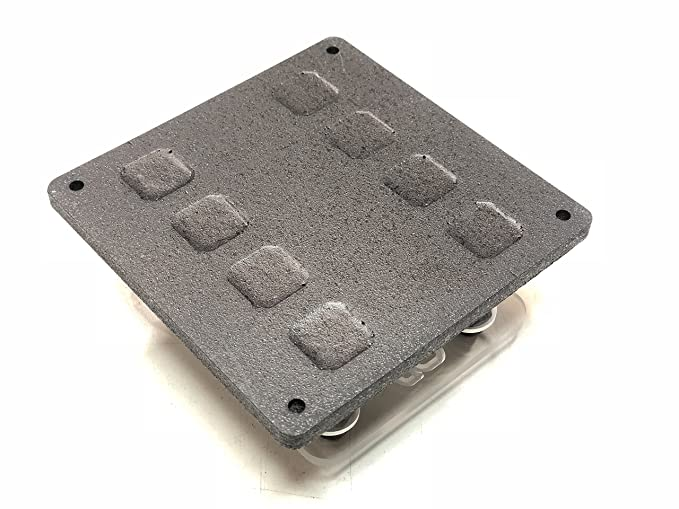 Steve Meade SMD SINGLE ANL Fuse Holder Heavy Duty Distribution Block PVC Black