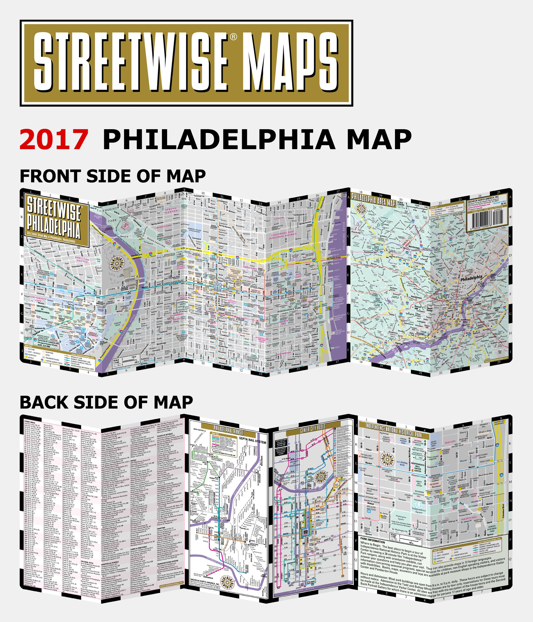 Streetwise philadelphia map laminated city center street map of streetwise philadelphia map laminated city center street map of philadelphia pennsylvania michelin streetwise maps michelin 9782067229976 sciox Images