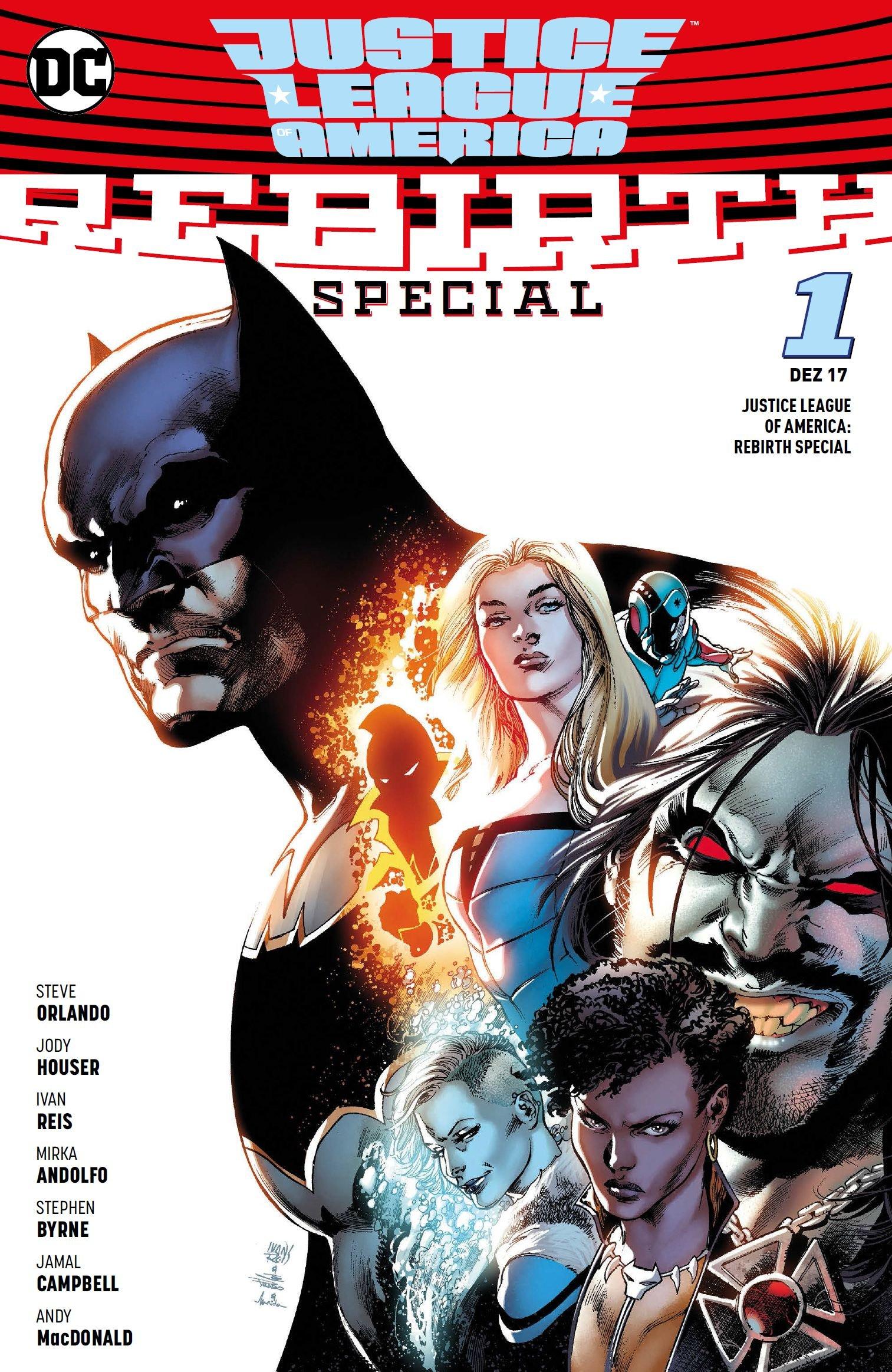 Justice League of America: Rebirth Special Taschenbuch – 13. November 2017 Steve Orlando Ivan Reis Carolin Hidalgo Jody Houser