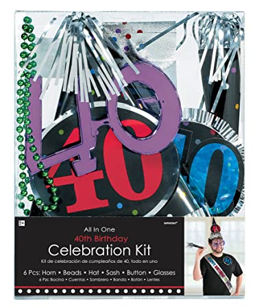 Buy 40th Birthday Party Kit Online At Low Prices In India