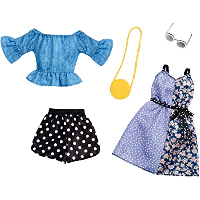 Barbie Fashion, Polka Dots,2 count: Toys & Games