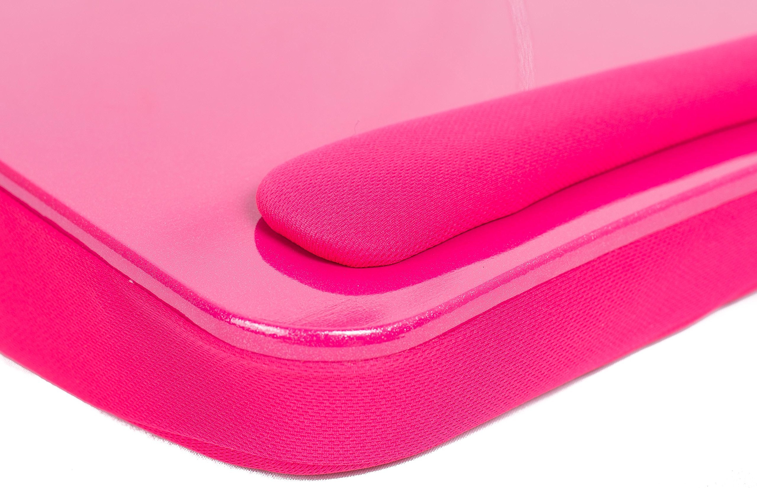 Sofia + Sam Lap Desk with USB Light (Pink)   Memory Foam Cushion   Supports Laptops Up To 17 Inches by Sofia + Sam (Image #3)