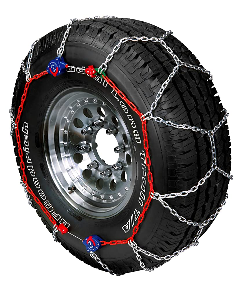 Peerless 0232605 Auto-Trac Light Truck/SUV Tire Traction Chain - Set of 2