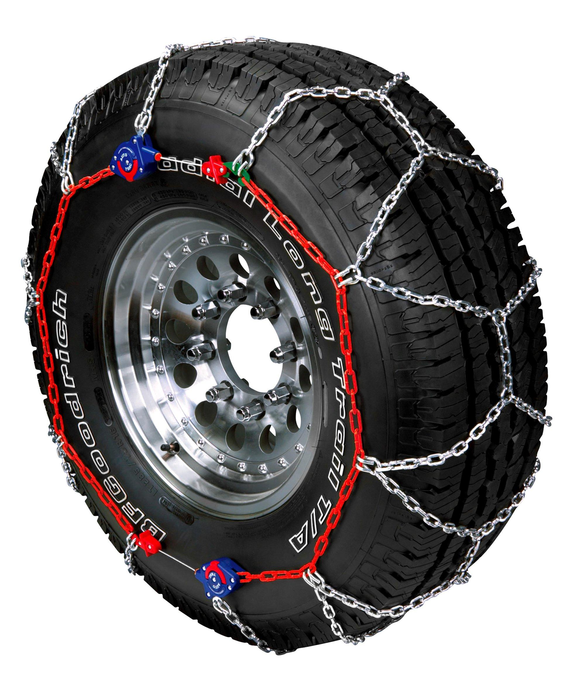 Peerless 0232405 Auto-Trac Light Truck/SUV Tire Traction Chain - Set of 2