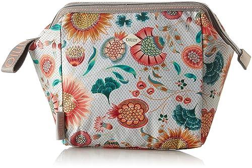 Ruffles Sunflower Washbag Mhz 3, Womens Bag Organiser, White (Offwhite), 12x22x22 cm (B x H T) Oilily