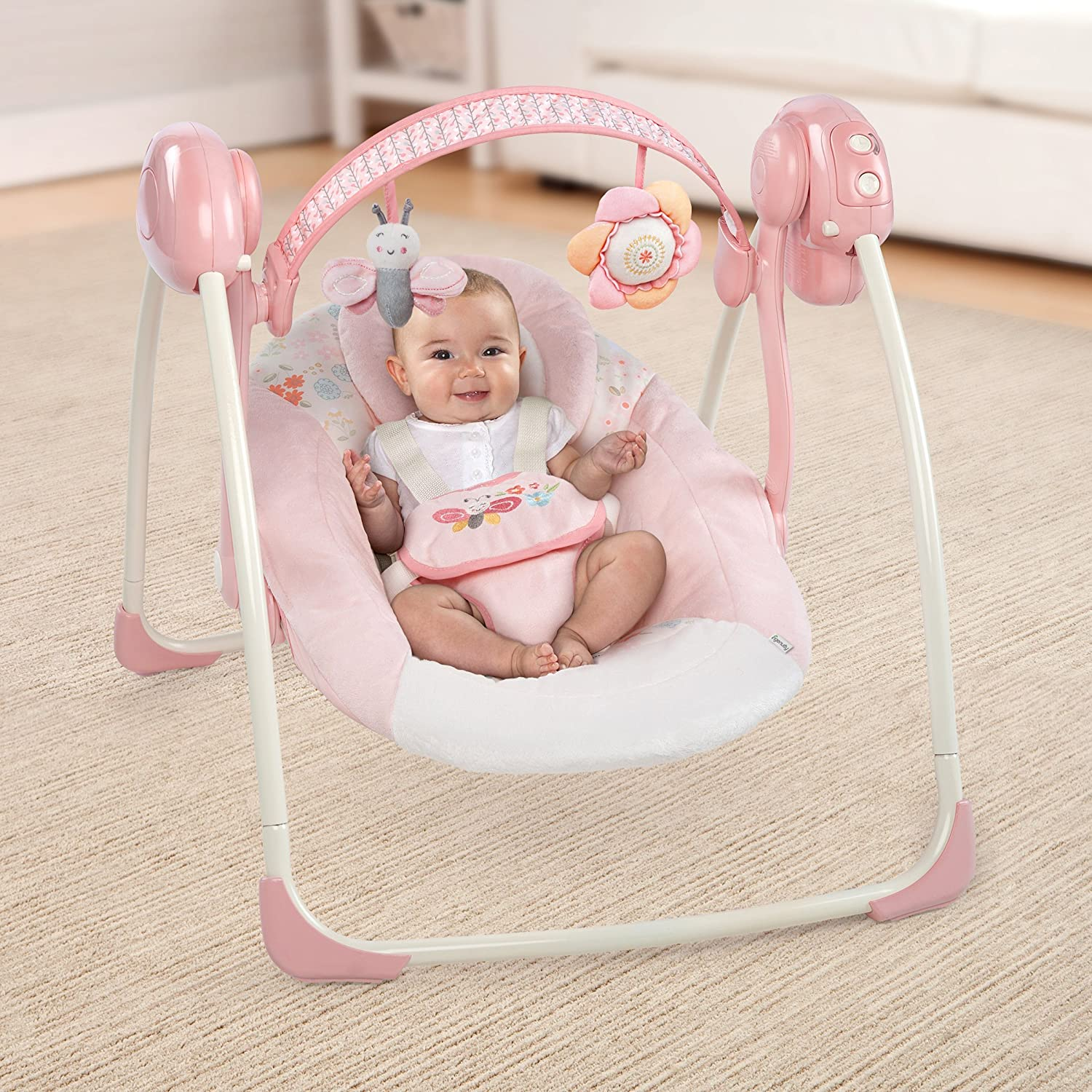 Amazon Ingenuity Soothe N Delight Portable Swing Felicity