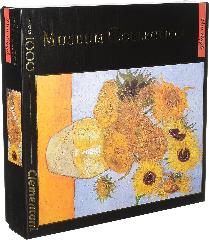Amazon Com Clementoni Colección De Museo Girasoles De Van