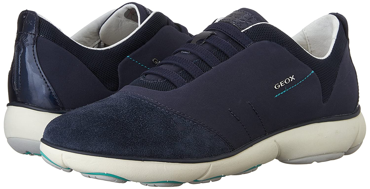 Geox C D NEBULA C Geox Damen Low Top Turnschuhe d4224f