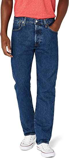 lana la licenciatura educador  Levi's Men's 501 Original Fit Denim Jeans, Blue at Amazon Men's Clothing  store