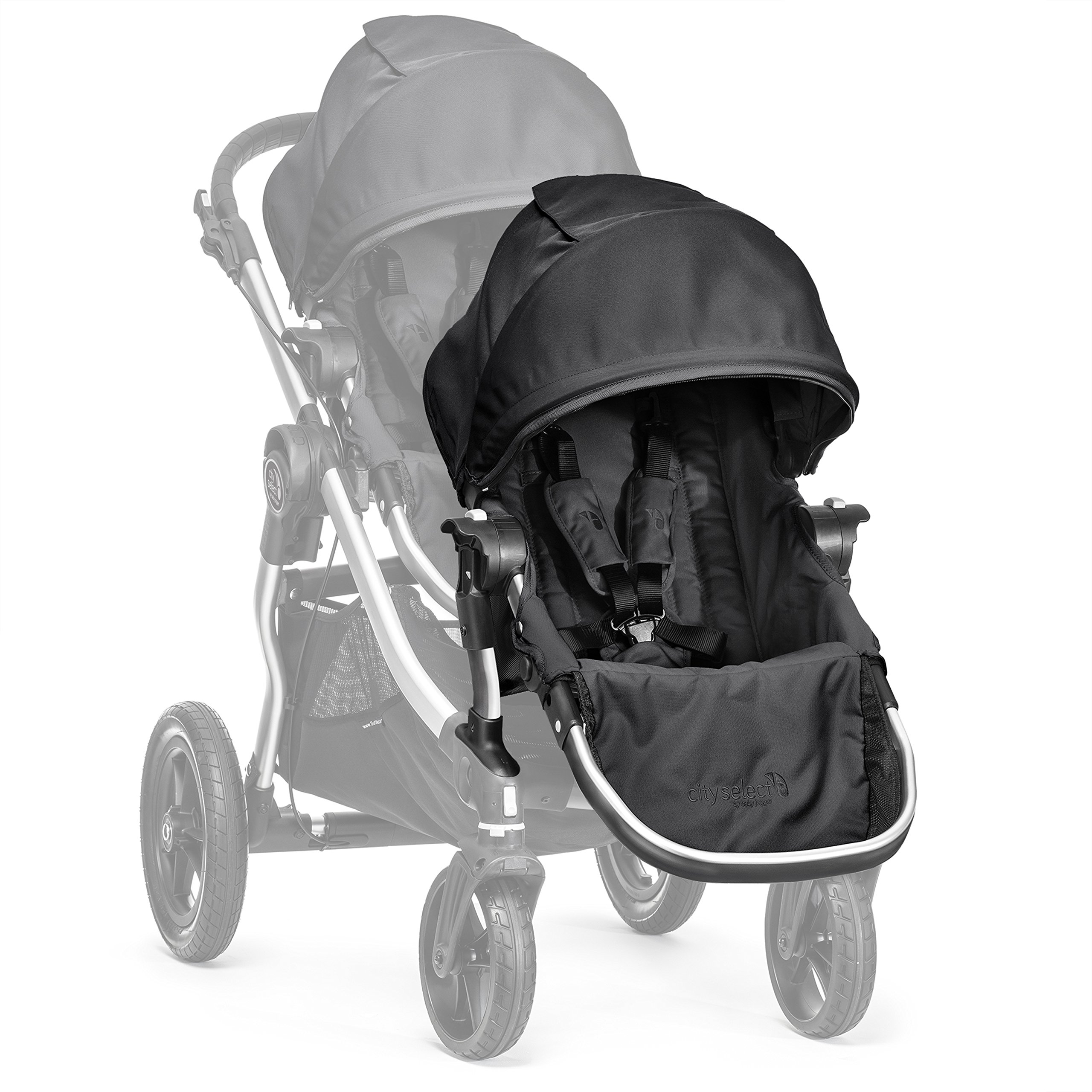 Baby Jogger City Select Second Seat Kit with Silver Frame, Onyx by Baby Jogger (Image #4)