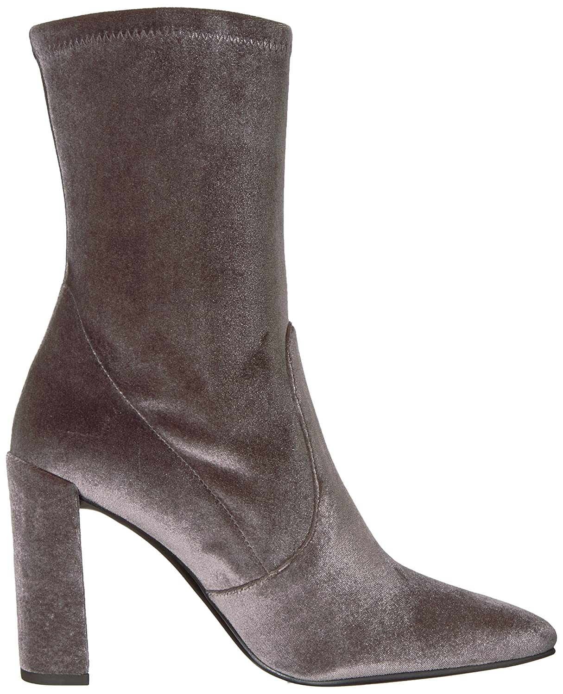 Stuart Weitzman Women's Clinger Ankle Boot B06X9CFYZV 8.5 B(M) US Smoke