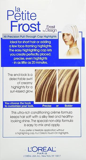 Amazoncom Loréal Paris Le Petite Frost Cap Hair Highlights For
