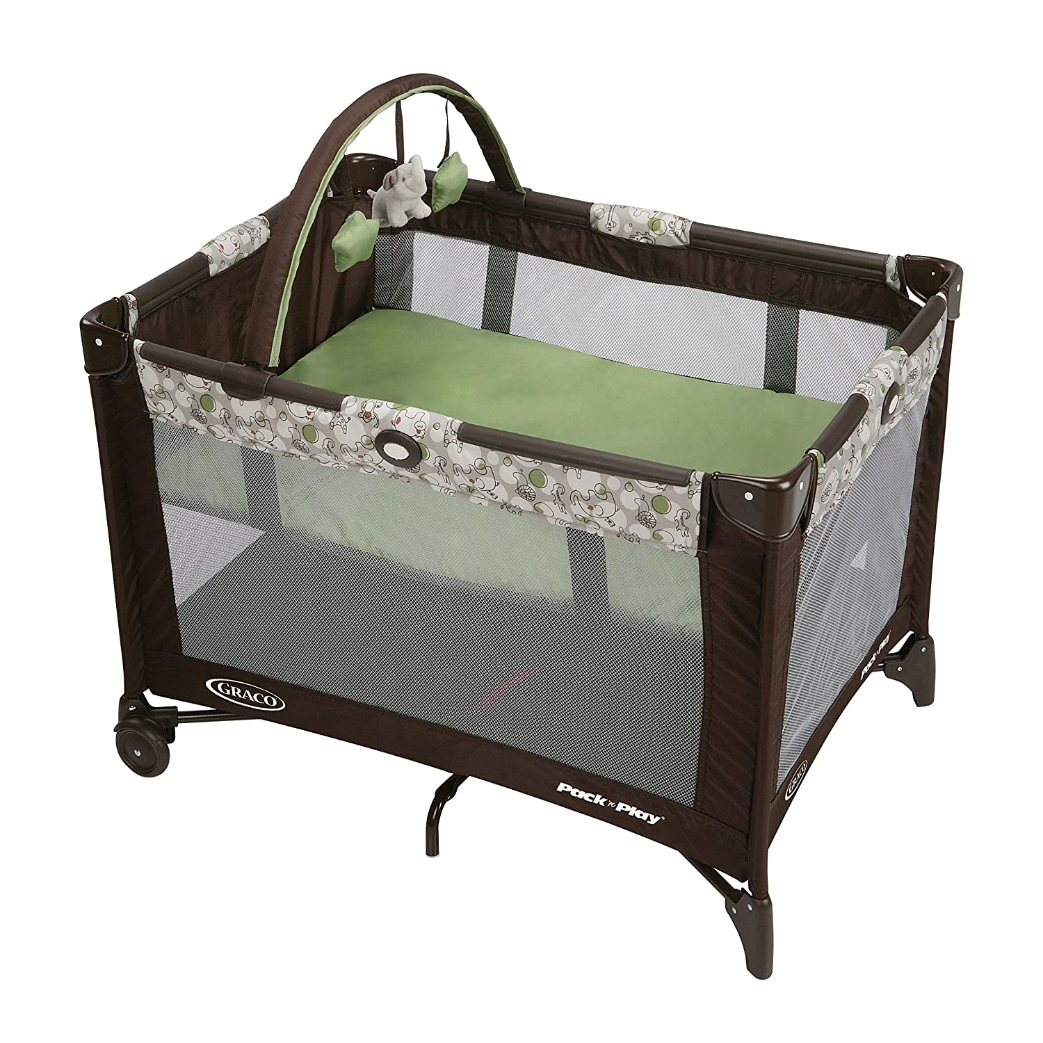 Graco Pack 'n Play On The Go Playard, Go Green 1812957