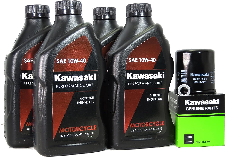 2013 Kawasaki NINJA 1000 ABS Oil Change Kit